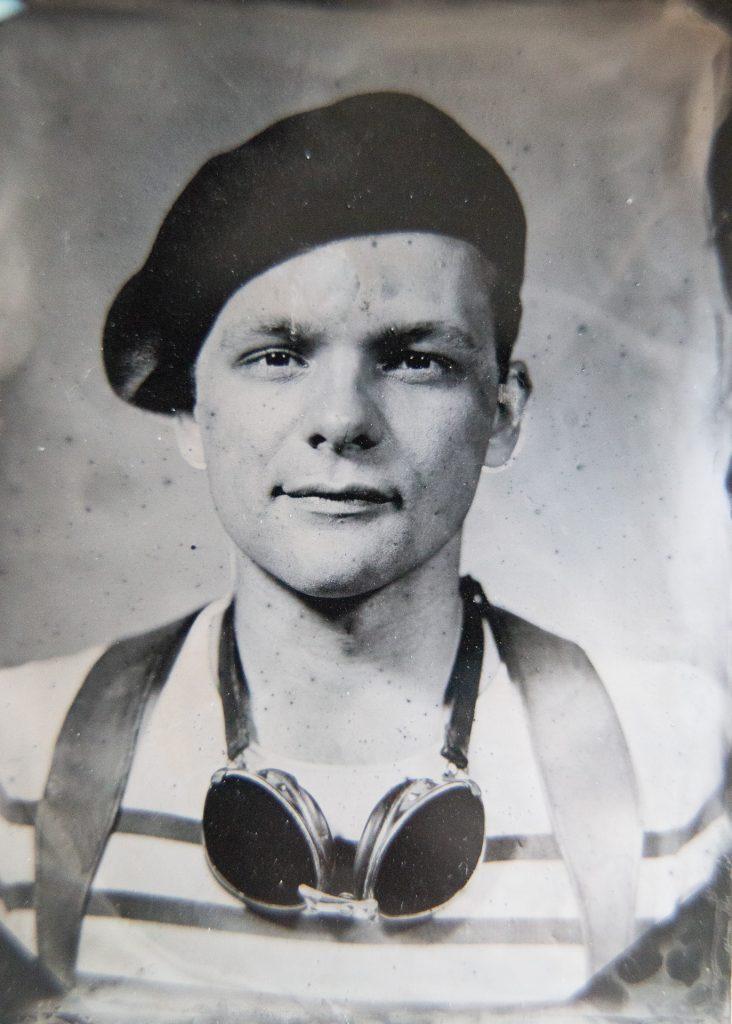 portrait à l'ancienne collodion humide