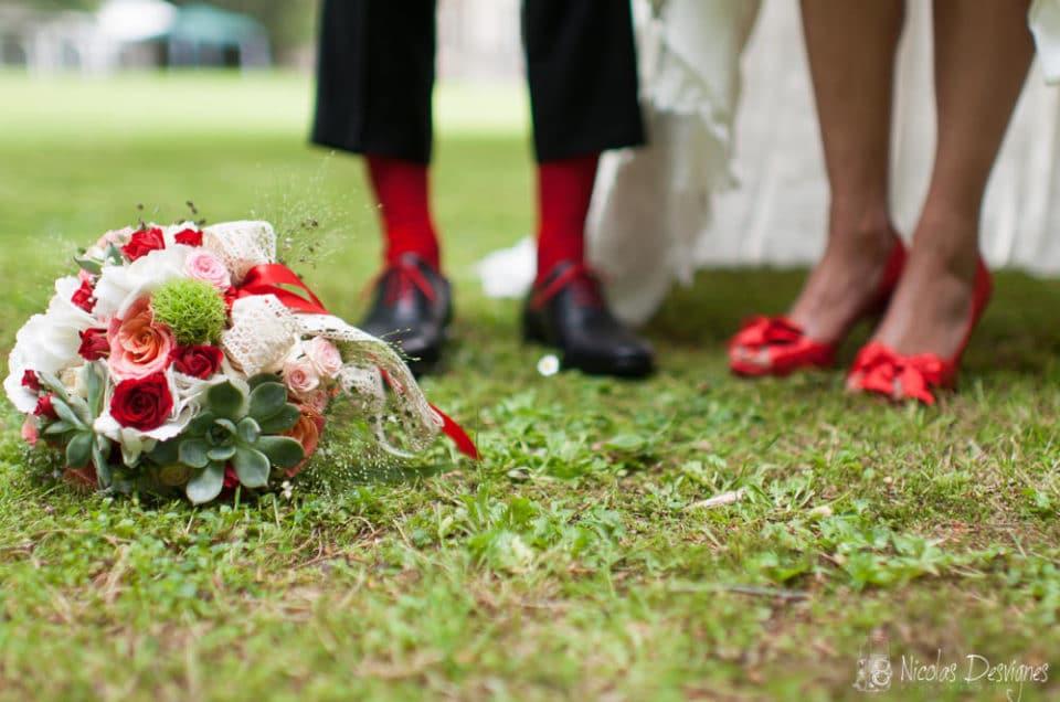 Mariage aux Cèdres à Corbehem