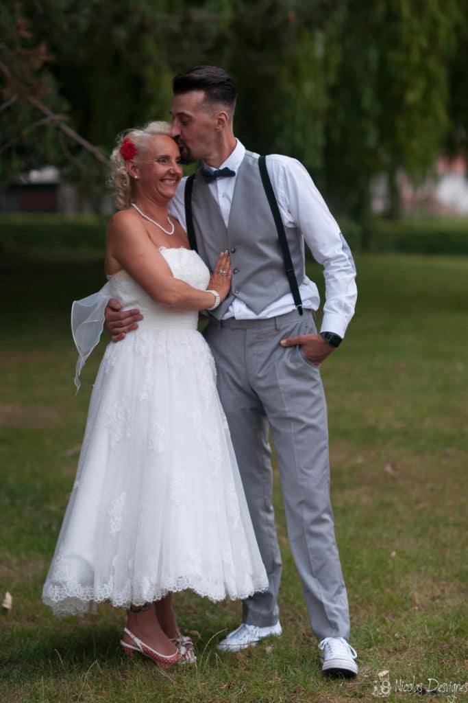 mariage rétro vintage pinup