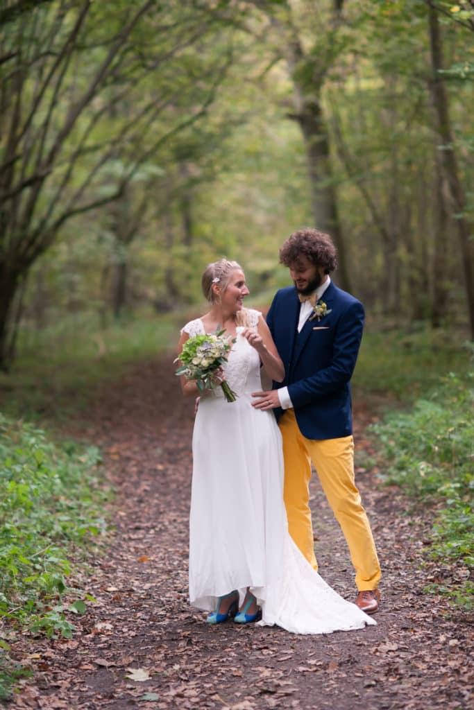 séance after dans les bois mariage bohème