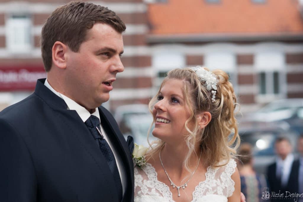 regard ému mariée mariage Lille