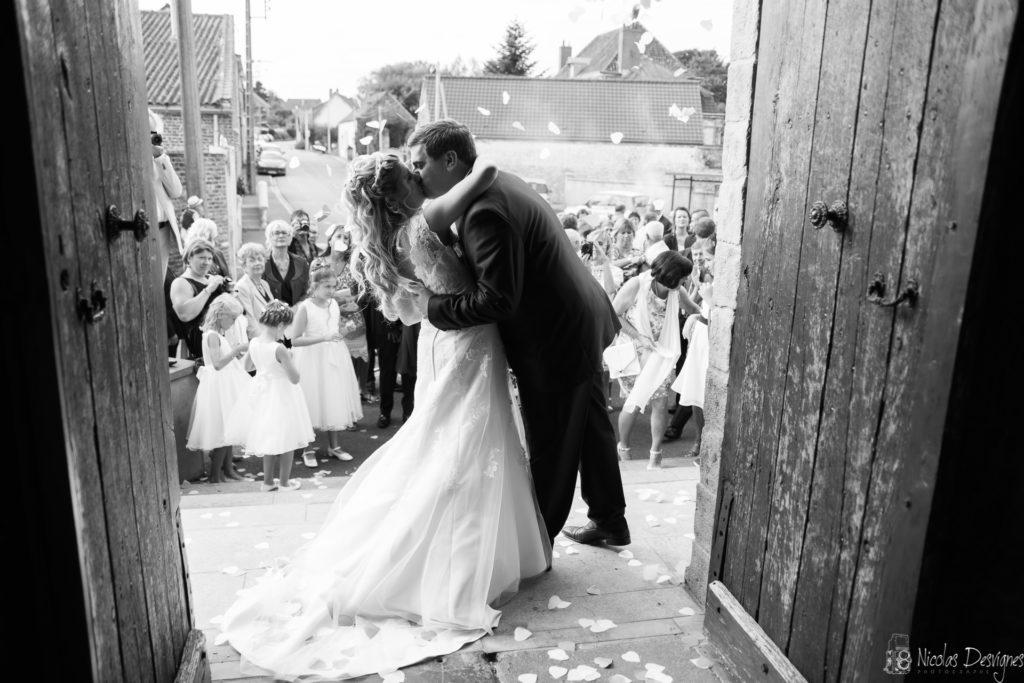 sortie d'église mariage Hauts de France Lille