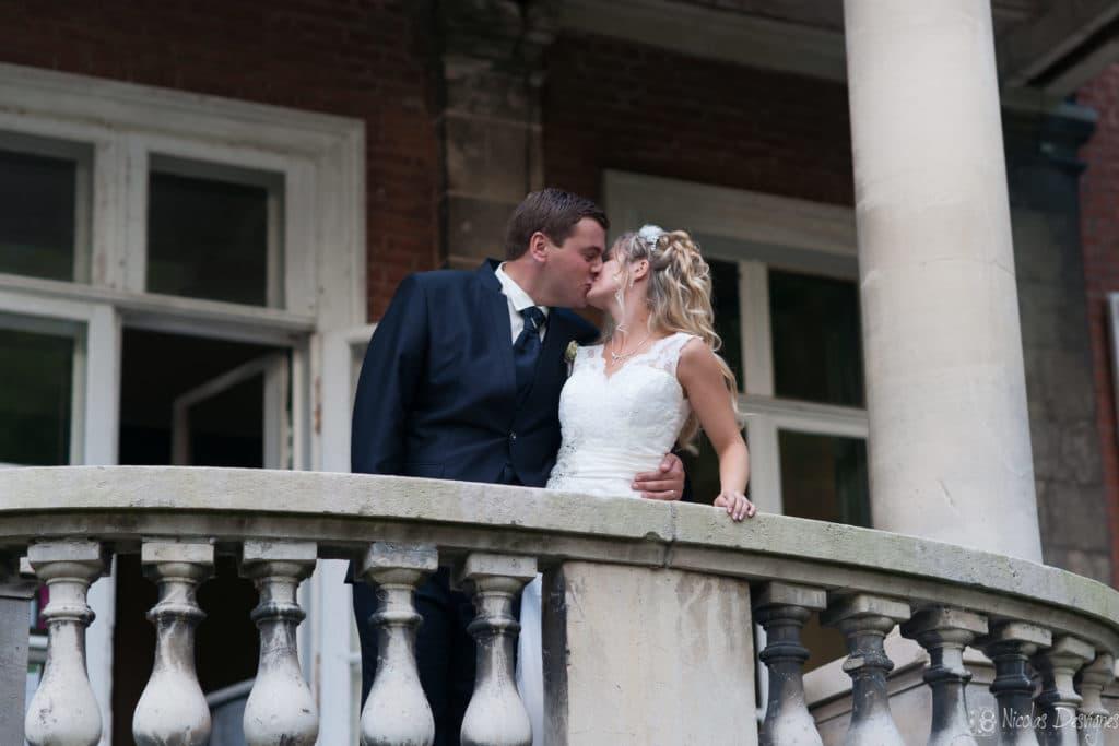 couple mariage peron chateau
