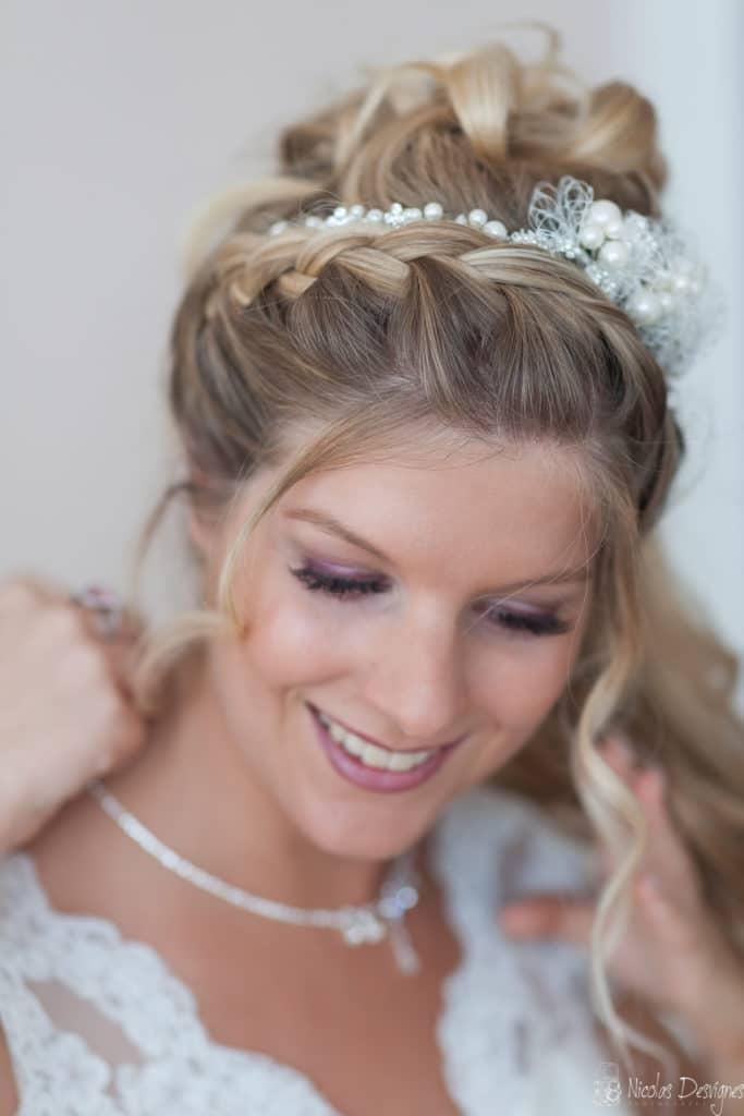 préparatif mariée bijoux collier Lille Croix