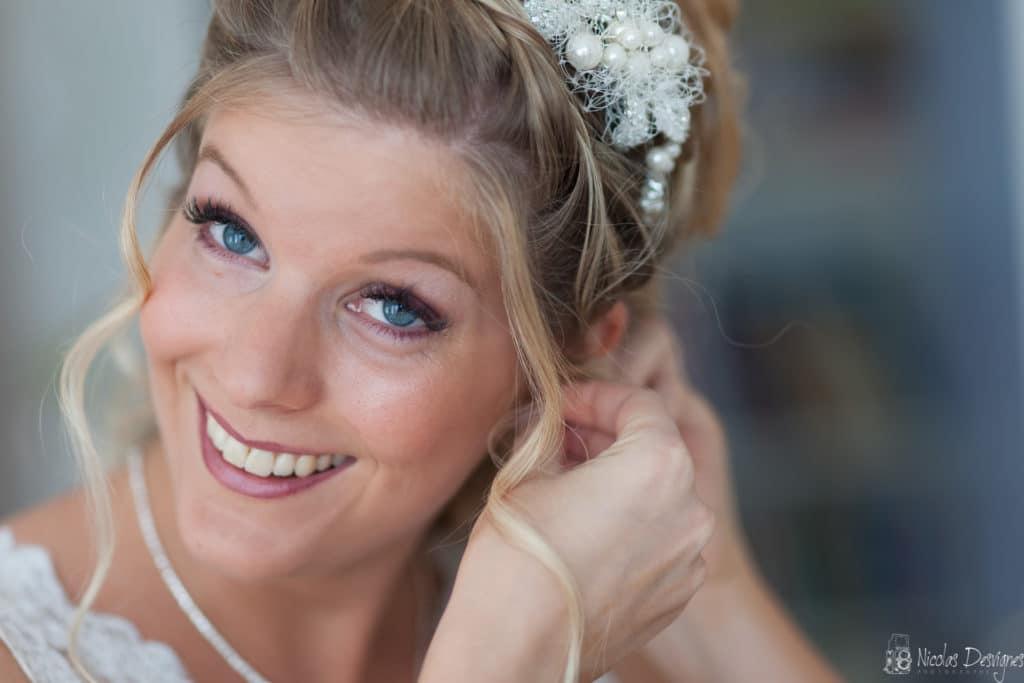 Lille mariée préparatif bouche d'oreille bijoux